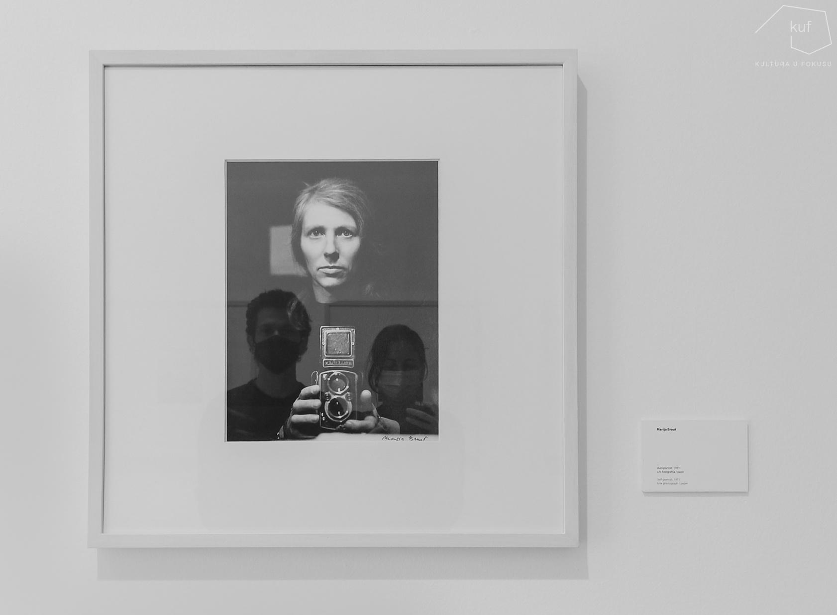 Portret i autoportret u portretu autoportreta